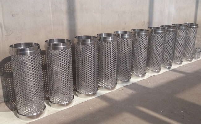 Perforated Metal Mesh 304 Stainless Steel Round Punch